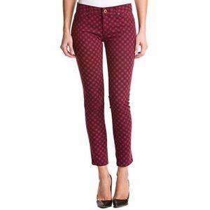 DL1961 Hipster Emma Bedford Plaid Legging Jeans 👖